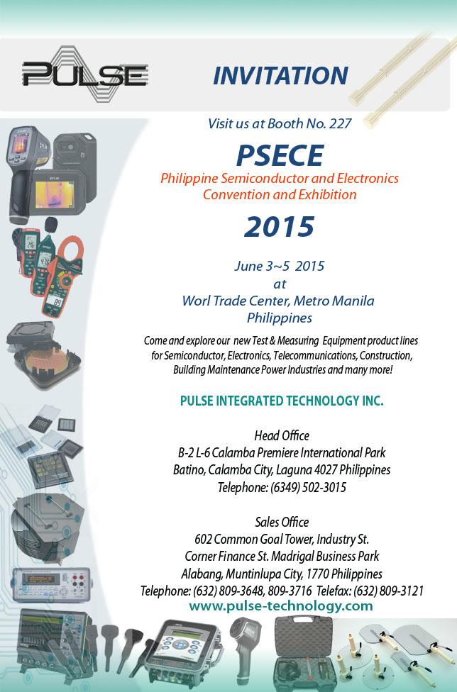 PSECE 2013 INVITATION